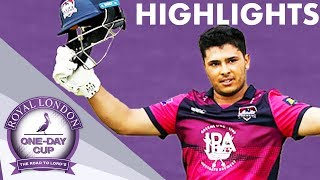 Final Over Drama In Close Game | Northants v Yorkshire | Royal London One-Day Cup 2019 - Highlights