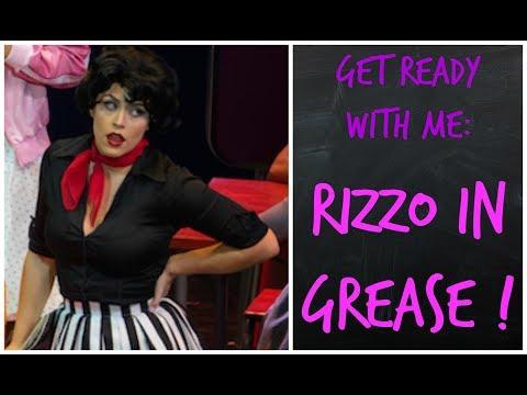 GRWM: Grease Rizzo Tranformation! 50s Makeup