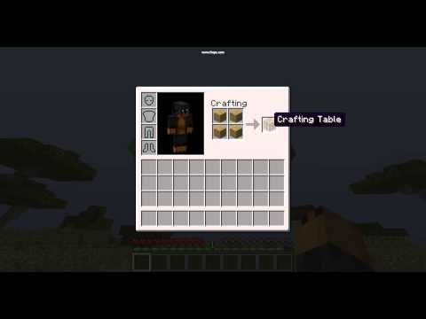 How To Make A Crafting Bench In Minecraft