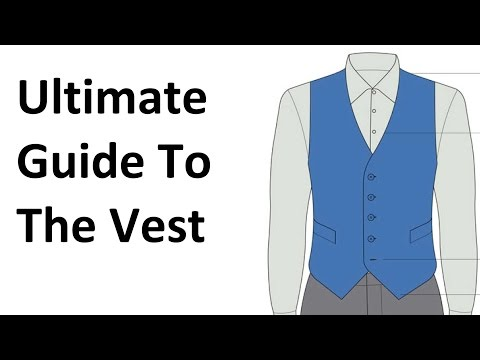 How To Buy A Vest | Ultimate Guide To The Waistcoat | Men's Vests Waistcoats Video