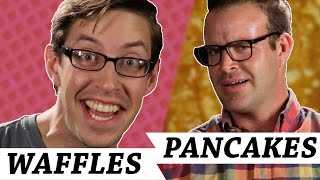 Waffles Vs. Pancakes • Debatable