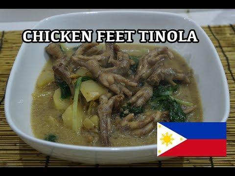 🇵🇭 Chicken Feet Tinola - Pinoy Tagalog Filipino Recipe