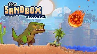 The Sandbox Evolution - Meteor Vs T-Rex! - Let
