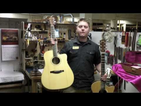 Wes explains how to choose the right acoustic guitar