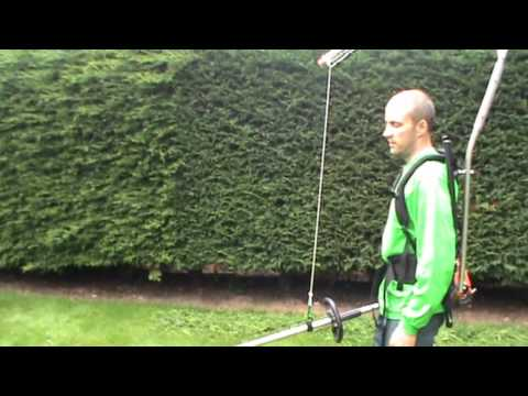 Easy-Lift Harness - with a Hedge Trimmer (UK)