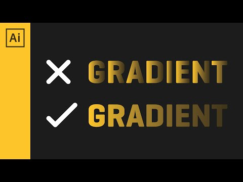 How To Add A Full Gradient | Adobe Illustrator