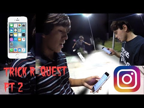 TRICK REQUEST/ READING YOUR INSTAGRAM COMMENTS