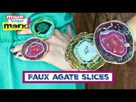 Agate Slices DIY