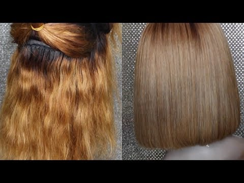 DIY: HOW TO FIX BRASSY ORANGE HAIR TO ASH BLONDE | FreeBornNoble