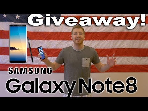 Samsung Note 8 Giveaway! International Note 8 Giveaway!
