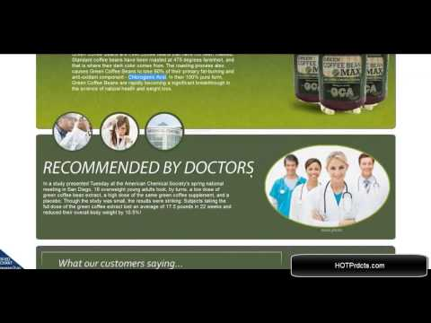 Green bean coffee extract side effects