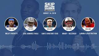 UNDISPUTED Audio Podcast (8.14.18) with Skip Bayless, Shannon Sharpe & Jenny Taft | UNDISPUTED