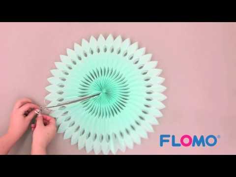FLOMO's Hanging Paper Fan