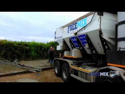 Freemix Concrete Supply Ready Mix concrete in Kent, Essex & Hertfordshire