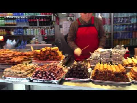 SOUTH KOREA: MYEONGDONG, SHOPPING, STREET FOOD.
