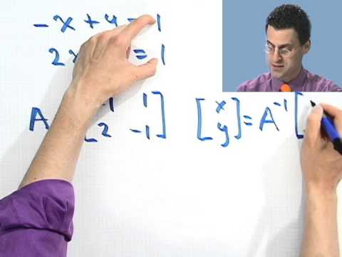 Solving a System of Equations with Inverses
