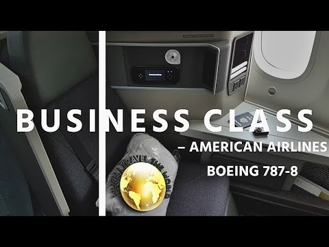 Business Class On American Airlines 787 LHR-ORD