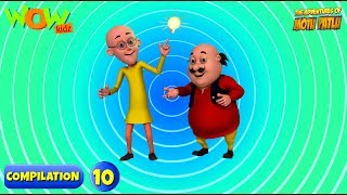 Motu Patlu 6 episodes in 1 hour   3D Animation for kids   #10