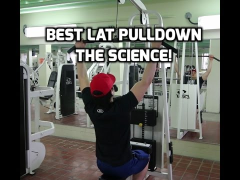 Best Lat Pulldown Technique! Build a Wider Back