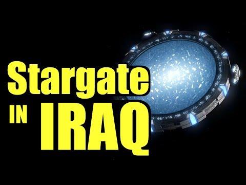 Discovered: the Stargate in Iraq - real Stargate portal, Iraq Stargate conspiracy, Zecharia Stitchin