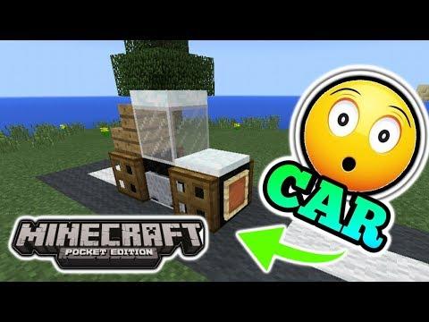 Minecraft PE: How to make a Car