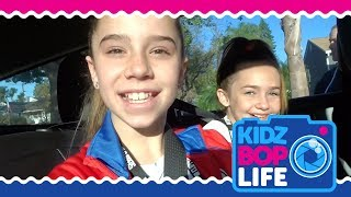 KIDZ BOP Life: Vlog # 6 - Olivia performs at a L.A. Clippers game