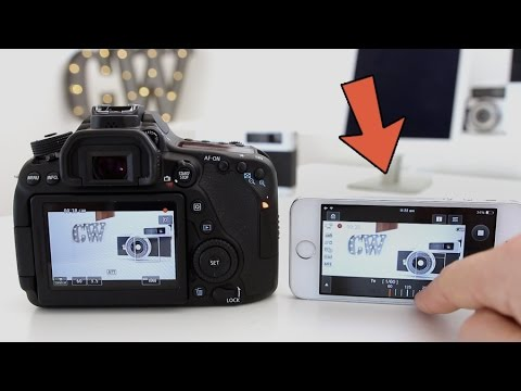 Canon 80D - Wifi Demo & Features! (Phone & Computer)