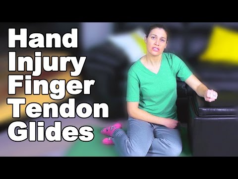 Finger Tendon Glides for Hand Injury or Surgery - Ask Doctor Jo
