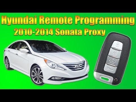 Hyundai Sonata Remote Programming