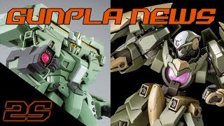 GN-X IV, EWAC Jegan, & (possible) MG G-Self! | Gunpla News November 2017 ep. 1