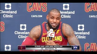 LeBron James FUNNY SAVAGE INTERVIEW Compiliation