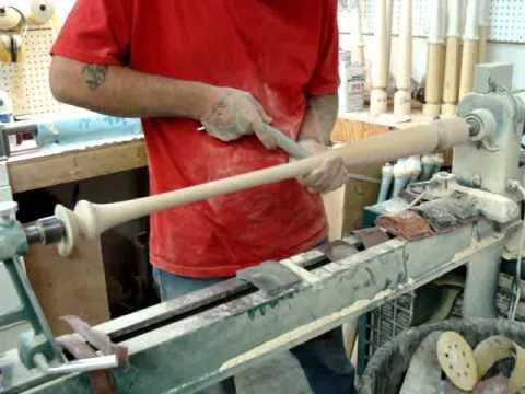 Sanding of a Wood Baseball Bat  | Viper Bats