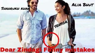 Dear Zingadi Movie Mistakes | Dear zindagi Full movies Funny mistakes
