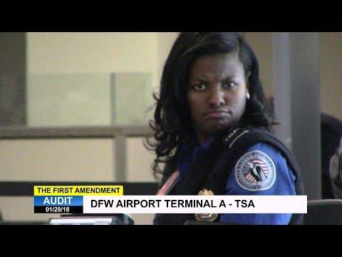 First Amendment Audit - DFW Airport - Terminal A - TSA