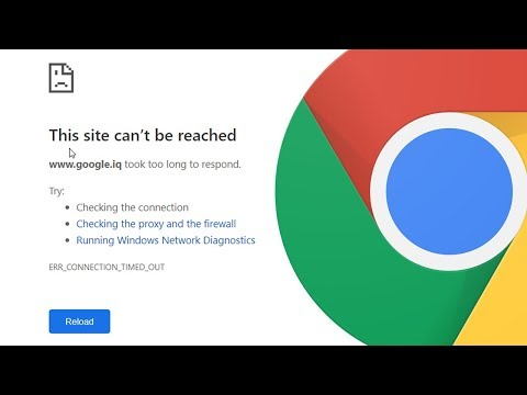 How to Fix This site can't be reached in Google Chrome Browser
