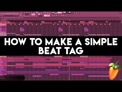 How To Make a Simple Beat Tag In FL Studio 12! [Tutorial]