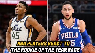 Why These NBA Players Think Donovan Mitchell is the Best Rookie Over Ben Simmons