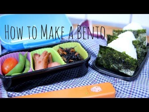 How to Make a Simple Bento