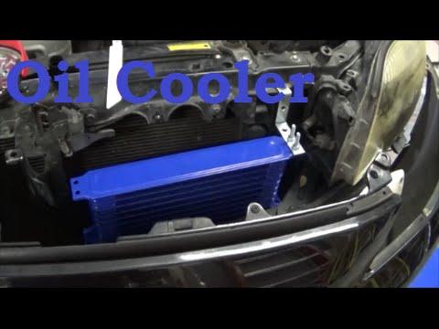 Cheap Scion Tc Turbo Build Part 1 - Oil Cooler