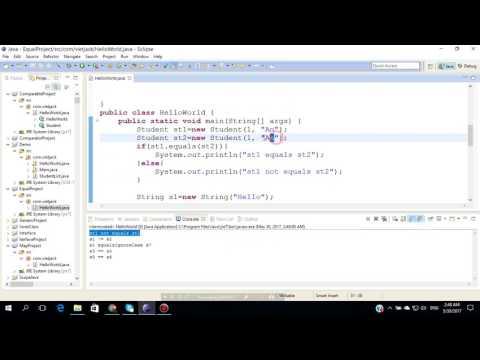 HashCode và Equals trong Java (HOT NHẤT 2018)