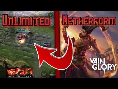 | Vainglory | Unlimited Reza netherform (10 seconds Echo glitch)