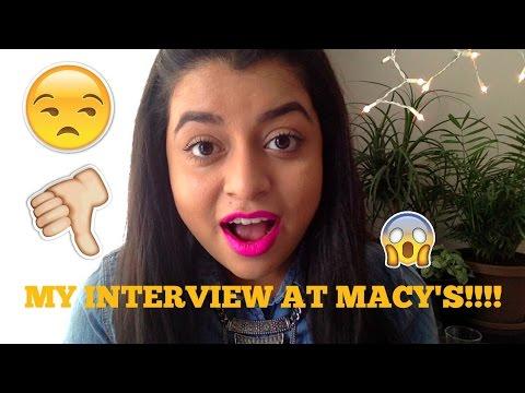 MACYS INTERVIEW I WTF
