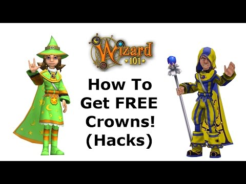 Wizard101 How to get FREE Crowns!