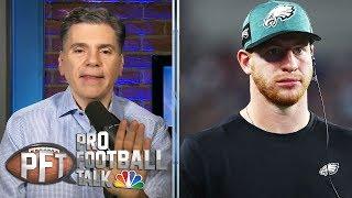 Carson Wentz rallies Eagles to comeback OT win vs. Giants | Pro Football Talk | NBC Sports