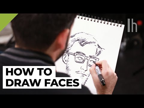 How to Draw Faces From A New Yorker Cartoonist