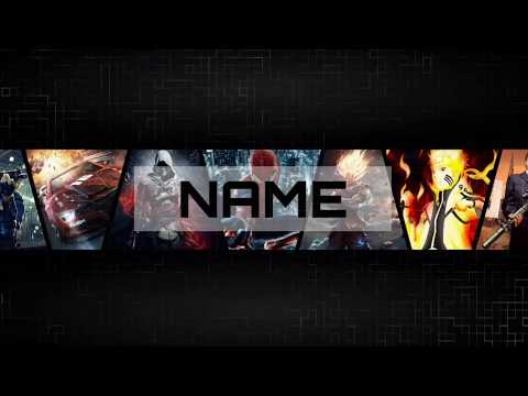 How To Make a Gaming Youtube Banner on Android (PS Touch) | #YoutubeTutorial