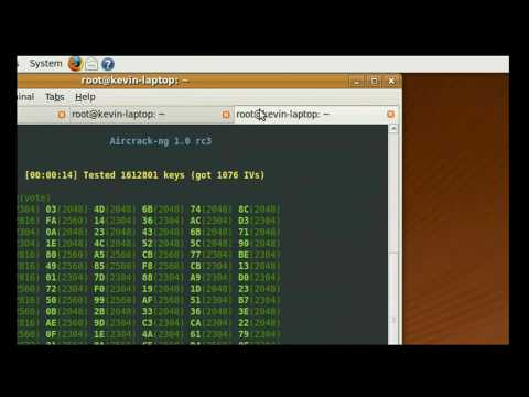 How to hack WEP key easy way