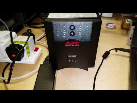 APC Smart-UPS 750 Gets New Batteries & Re-calibrated - Home Network Backup Power Supply (Yuasa NP7)