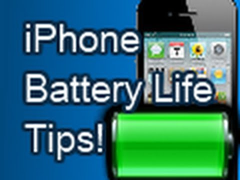 Improving Your iPhone's Battery Life
