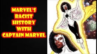 The Racist History Of The First Female Captain Marvel